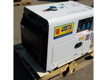 Электрогенератор Unused Ashita Power AG7500D 6.25KvA Air Cooled Diesel Generator (SIN DECLARACION DE CONFORMIDAD CE / NO EC DECLARATON OF CONFORMITY) - 2991-60