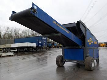 Ultra Spreader Single Axle Draw Bar Screener - грохот