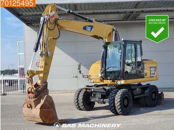 Caterpillar M313 D MP + HP - From Cat dealer - Low hours - колёсный экскаватор