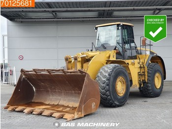 Caterpillar 980 G Good tyres - bucket with tips - колёсный погрузчик