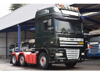 DAF XF 105 - 510 / Manuel / REVISION ENGINE / Euro 5 / 6x2 / Standclima / Super Space Cab - тягач