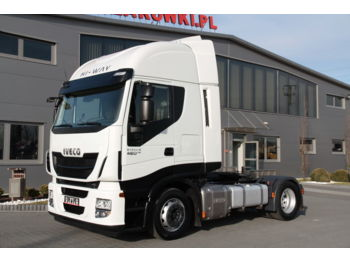 IVECO STRALIS 460 HI WAY LOW DECK MEGA EURO 6 - тягач