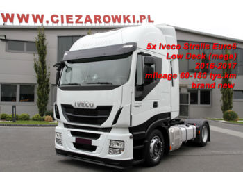 Тягач IVECO TRACTOR-UNIT STRALIS 460 E6 LOW DECK 80 000 KM LIKE NEW!