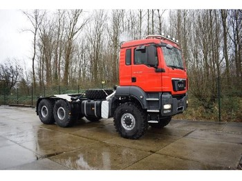 MAN TGS 40.480 BB-WW 6x6 CHASSIS-CABIN WITH ALLISON GEARBOX - тягач