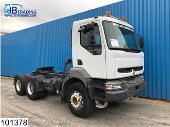 Renault Kerax 420 6x4, Manual, Airco, Steel suspension, Hub reduction - тягач