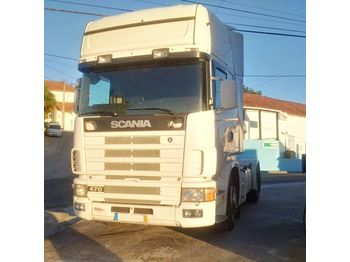 Тягач SCANIA 124L 470 with 420 HP engine left hand drive Retarder