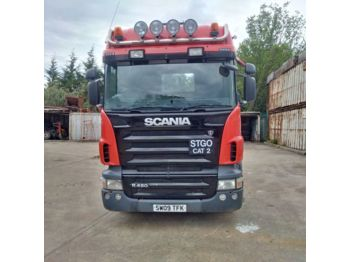 SCANIA R480 6X2 TAG AXLE, Hydraulic Kit Manual 80 Ton - тягач