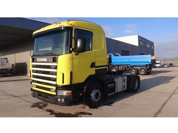 Тягач Scania 114 - 340 (MANUAL GEARBOX / BOITE MANUELLE / PERFECT CONDITION)