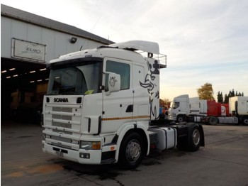 Тягач Scania 124-360 (MANUAL PUMP and GEARBOX)