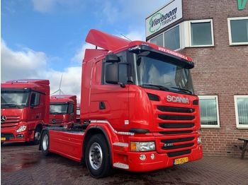 Scania G410 EURO6 SCR ONLY HOLLAND TRUCK TOP CONDITION - тягач