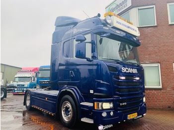Scania G410 HIGHLINE SHOWROOMCONDITION KING OF THE ROAD EURO6 FULL OPTIONS - тягач