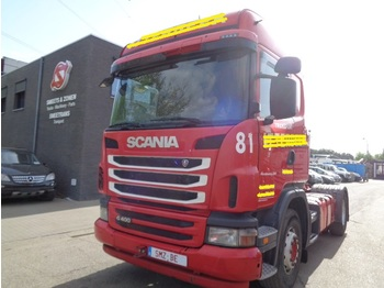 Тягач Scania G 400 highline E5 retarder hydraulic TOP 2x