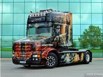 Scania T580 TOPLINE TORPEDO SPECIAL SHOW TRUCK ONE OF A KIND - тягач