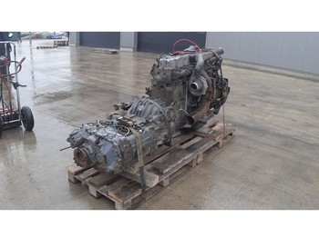 DAF 95 ATI 360 (6 CYLINDER ENGINE WITH MANUAL PUMP AND GEARBOX) - двигатель