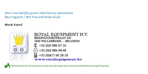 Royal Equipment